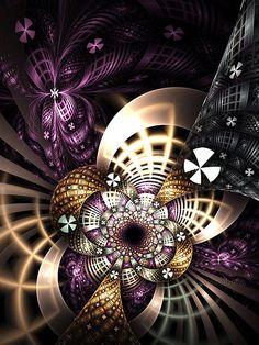 Creative Fractals by Eli Vokounova