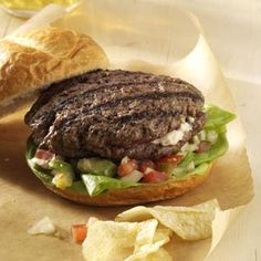 Jalapeno Popper Mega Burgers Recipe~contest Winning.
