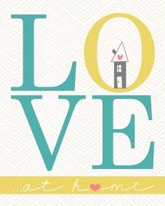 Free LOVE printables via @Matt Nickles Valk Chuah 36th Avenue .com, stinkin cute!!!