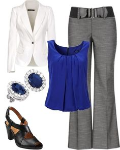 fashion, blazer, style, cloth, color combos, offic, black shoes, work outfits, blues