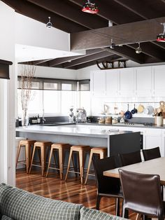 Warm and inviting kitchen,