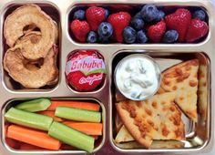 School Lunch Ideas from Weelicious #weePLAN