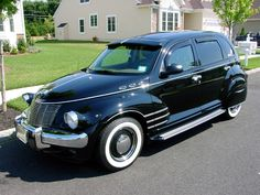 PT Cruiser Hearse. I need the visor, bumpers, and tires and I will be happy.
