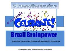 This 20 page unit offers an eight-center, student-led design, and assessment guide to explore Brazil. The materials can also be adapted for additional middle or secondary school topics.  Students explore Brazil through multiple intelligence tasks that draw together the wider school community.  Learners are facilitated to discuss together how they will select a group that works with their chosen intelligence,