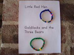Story bracelet from