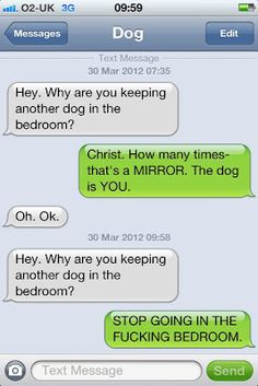 Great Tumblr about txts from a dog :)