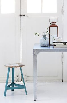 House doctor three legged stool. Simply inspirational by www.ConfidentLiving.se