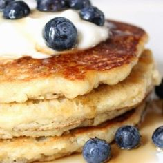 Low-Carb Gluten-Free Almond Pancakes