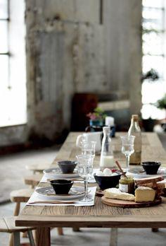 farm table.