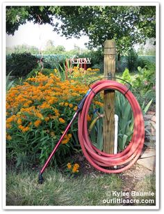 """Our Little Acre: """"Lowe's Creative Ideas: Making Watering Easier"""""""