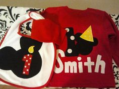 Mickey Mouse Clubhouse Birthday shirt by designsbyshine on Etsy, $20.00