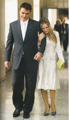 Carrie, Big, courthouse marriage :)