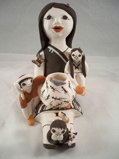 Acoma Pueblo Indian Pottery Storyteller Judy Lewis
