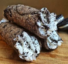 Oreo Cannoli Are Def