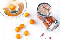 spicy candied kumquats recipe