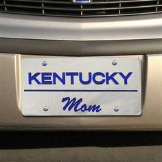 University of Kentucky Wildcats - MOM license plate