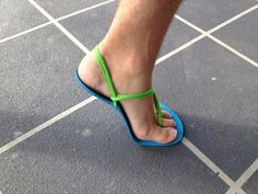 Barefoot running shoes.