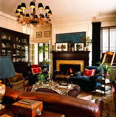 interior, colors, casual styles, drawing rooms, club chairs