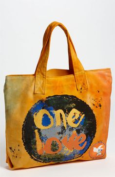 Love This Planet 'One Love' Canvas Tote available at #Nordstrom