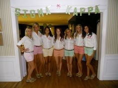 Lilly Pulitzer Day during Recruitment!