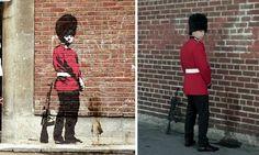 Personagens famosos de Banksy na vida real