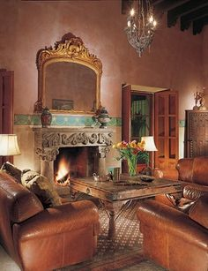 Sante Fe Furniture On Pinterest Hacienda Style Spanish Colonial And Dining Rooms
