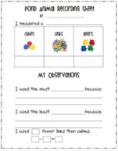 Mrs. Kincaid's First Grade: measurement