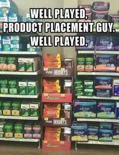 well played product placement guy. well played.