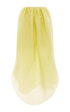 Silk-Gazar Petal Skirt by Isa Arfen - Moda Operandi