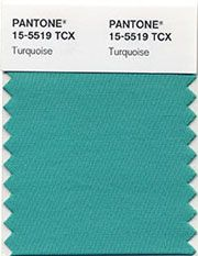 pantone color of the year 2010   Turquoise