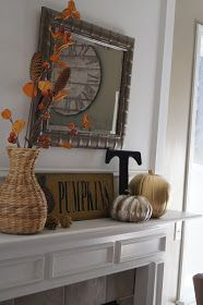 Nest Your Best: Fall Mantle