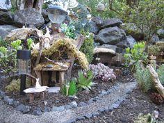 miniatur garden, fairi garden, fairi fun, garden features