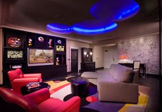 to stay in the mickey mouse penthouse suite at the disneyland hotel in anehiem. it's sooooo amazingly mickey filled!