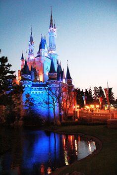 Beautiful Cinderella's Castle