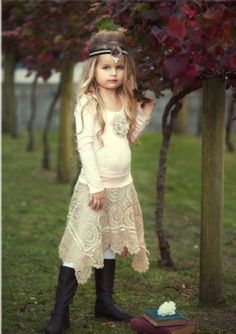 Dollcake Fall 2012Out and About Skirt & Top Set2T to 10 YearsSo Cute & Shabby Chic!Now In Stock