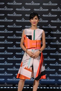 French actress Elodie Yung wearing the new Rendez-Vous, Jaeger-LeCoultre Gala Dinner, Venice, 4th September