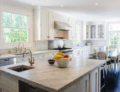 crisp white kitchen