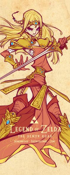 Wallscoll: Zelda by dapper-owl on deviantART nice outfit and great concept I think