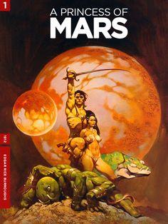 'A Princess Of Mars' by Edgar Rice Burroughs