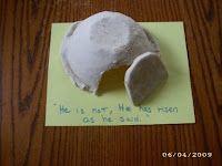 bibl craft, empti tomb, children bibl, buildings, salt dough, character concept, baking, blog, bowls