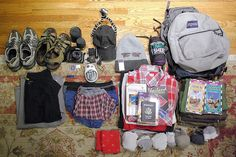 Ultimate guide for packing for a round the World Trip - camping / backpacking