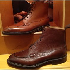 Edward Green Nevis Boot • Chestnut and Mahogany