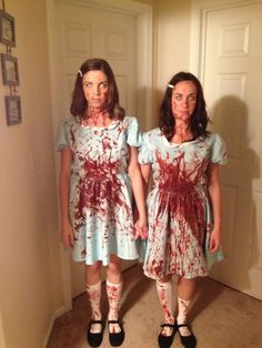 """The Shining"" twins Halloween costume idea"