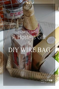 Home Made by Carmona: Hostess Gift: A DIY Basketful of Spring