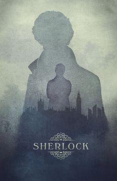 Sherlock poster by The Art Eye - 11 x 17 Print, $18