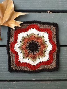Ravelry: Mayvalley's Nordic Star Afghan Square