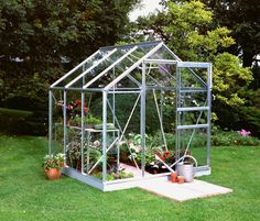 6ft x 6ft Greenhouses for your garden. 6x6 allotment greenhouses for sale.  http://www.greenhousestores.co.uk/6x6-Greenhouses/