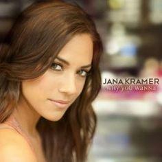 Jana Kramer. She's from One Tree Hill Season's 7-9