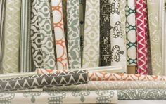 Block and Brayer fabrics