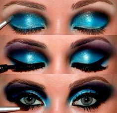 #blue #eyeshadow #ma